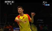谌龙VS苏吉亚托 2013苏迪曼杯 男单1/4决赛视频