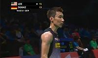 李宗伟VS杜马克 2013苏迪曼杯 男单资格赛视频