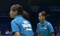 姚蕾/萨里VS李文珊/布鲁斯 2011苏迪曼杯 女双资格赛视频