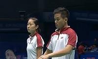 奇雅加特/姚蕾VS阿德里安/高福颐 2011苏迪曼杯 混双资格赛视频