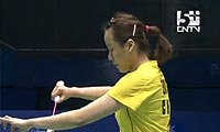 田卿/赵芸蕾VS迈克斯/桑德拉 2011苏迪曼杯 女双资格赛视频