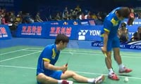 郑在成/李龙大VS鲍伊/摩根森 2011苏迪曼杯 男双资格赛视频