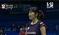 广濑荣理子VS菲尔达萨里 2011苏迪曼杯 女单1/4决赛视频