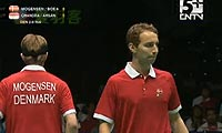阿尔文/阿山VS鲍伊/摩根森 2011苏迪曼杯 男双半决赛视频