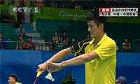 谌龙VS黄永棋 2010亚运会 男单1/4决赛视频