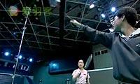 反手击球、步法启动技巧