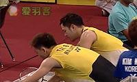 金基正/金沙朗VS陈文宏/古健杰 2013印度超级赛 男双1/4决赛视频