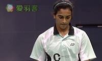 辛德胡VS桥本由衣 2013印度超级赛 女单1/4决赛视频