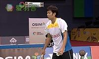 李宗伟VS波萨那 2013印度超级赛 男单半决赛视频