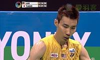 李宗伟VS田儿贤一 2013印度超级赛 男单决赛视频