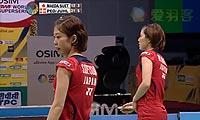 前田美顺/末纲聪子VS尤尔/佩蒂森 2013印度超级赛 女双决赛视频