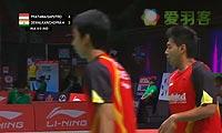 普拉塔玛/萨普特拉VS迪瓦卡/乔普拉 2013苏迪曼杯 男双资格赛视频