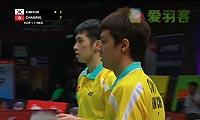 金基正/金沙朗VS伍家朗/陈润龙 2013苏迪曼杯 男双资格赛视频