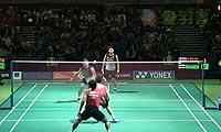 阿山/塞蒂亚万VS陈文宏/古健杰 2013澳洲公开赛 男双1/4决赛视频