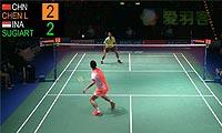 谌龙VS苏吉亚托 2013德国公开赛 男单决赛视频