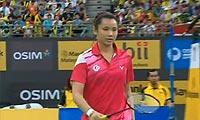 戴资颖VS姚雪 2013马来公开赛 女单决赛视频