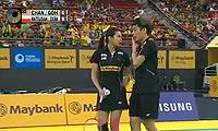 陈炳顺/吴柳萤VS马特斯亚克/希尔巴 2013马来公开赛 混双半决赛视频
