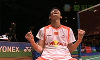 谌龙VS李宗伟 2013全英公开赛 男单决赛视频