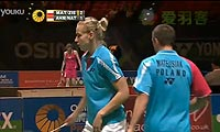纳西尔/艾哈迈德VS马特斯亚克/希尔巴 2013全英公开赛 混双1/4决赛视频