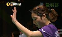 鲍恩VS成池铉 2013全英公开赛 女单半决赛视频