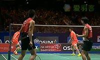 刘小龙/邱子瀚VS阿山/塞蒂亚万 2013全英公开赛 男双半决赛视频