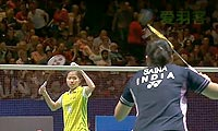 因达农VS内维尔 2013全英公开赛 女单半决赛视频