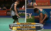 李宗伟VS坦农萨克 2013全英公开赛 男单半决赛视频