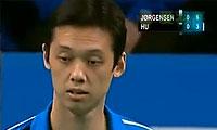 约根森VS胡赟 2012哥本哈根大师赛 男单决赛视频