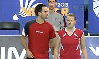 张楠/赵芸蕾VS尼尔森/佩蒂森 2013韩国公开赛 混双半决赛视频
