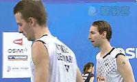 鲍伊/摩根森VS金基正/金沙朗 2013韩国公开赛 男双1/4决赛视频