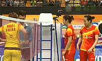 田卿/赵芸蕾VS王晓理/于洋 2012香港公开赛 女双决赛视频