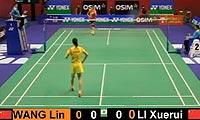 李雪芮VS王琳 2012香港公开赛 女单半决赛视频