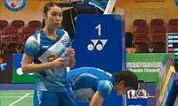 松尾静香/内藤真实VS当甲农/库查拉 2012香港公开赛 女双1/4决赛视频