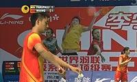 王睁茗VS卡什亚普 2012中国公开赛 男单1/4决赛视频