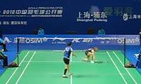 申克VS裴延珠 多场合集 2012中国公开赛 女单1/16决赛视频