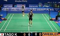 田儿贤一VS茨维布勒 2012中国公开赛 男单1/16决赛视频