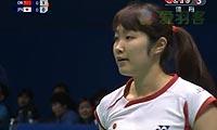 王仪涵VS广濑荣理子 2012亚锦赛  女单资格赛视频