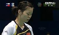 李雪芮VS郑韶婕 2012亚锦赛  女单1/4决赛视频