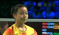 徐晨/马晋VS马特斯亚克/希尔巴 2012丹麦公开赛 混双1/4决赛视频