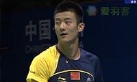 谌龙VS胡赟 2012中国大师赛 男单决赛视频