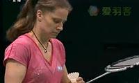 李雪芮VS申克 2012印度公开赛 女单决赛视频