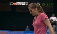 申克VS陈晓佳 2012印度公开赛 女单半决赛视频