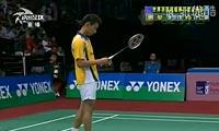 李宗伟VS许仁豪 2012印度公开赛 男单半决赛视频