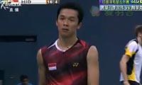 李宗伟VS陶菲克 2012印度公开赛 男单1/4决赛视频