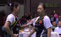 骆赢/骆羽VS程文欣/简毓瑾 2012澳洲公开赛 女双决赛视频