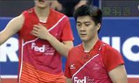 蔡赟/傅海峰VS李龙大/郑在成 2012韩国公开赛 男双决赛视频