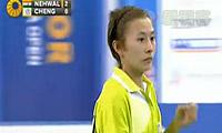 内维尔VS郑韶婕 2012韩国公开赛 女单1/8决赛视频