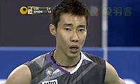 李宗伟VS孙完虎 2012韩国公开赛 男单1/8决赛视频