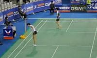 李雪芮VS鲍恩 2012韩国公开赛 女单1/8决赛视频