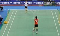 汪鑫VS裴延姝 2012韩国公开赛 女单1/16决赛视频